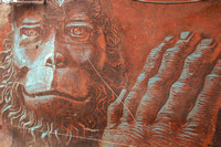 Planet of the Apes Street Art in Kathmandu 4