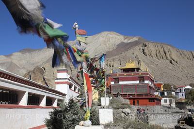Kag Chode Thupten Samphel Ling Monastery, Kagbeni, Lower Mustang.