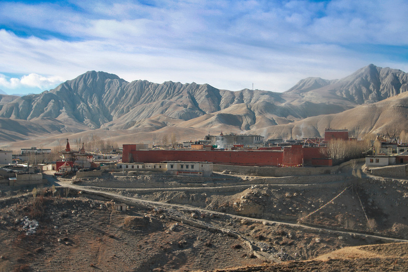 Lo Manthang in Upper Mustang once known as the Kingdom of Lo