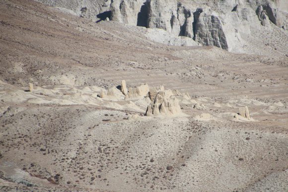Abandoned village in Upper Mustang