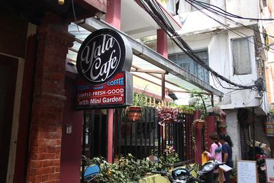 Yala Cafe in Kathmandu