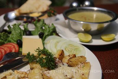Turkish Set Breakfast at Merhabah in Kathmandu