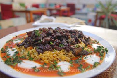 İskender Kebab at Merhabha Restaraunt