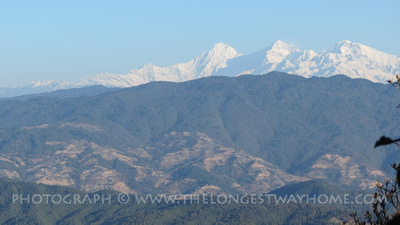 Mountains from Nagarkot