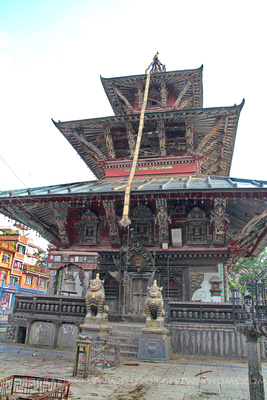 The Rato Machhendranath Temple