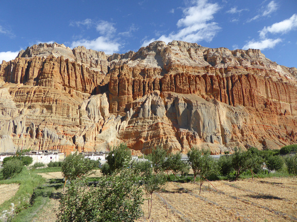 Upper Mustang Mountains in Nepal