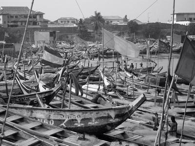 Boats at James Town, Ghana