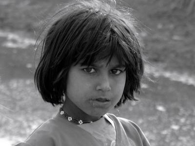 Afghan Girl - Pakistan Refugee Camp