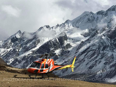 Everest Helicopter tour in Nepal