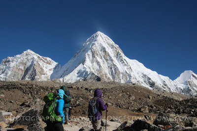 Trekking guide at Base Camp