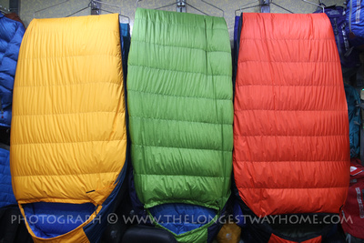 Sleeping bags for ABC