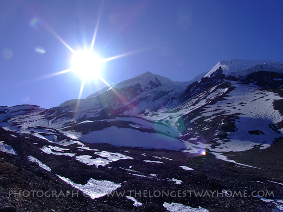 Thorong La Pass on The Annapurna Circuit Trek
