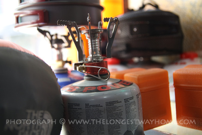 Camping stoves in Nepal