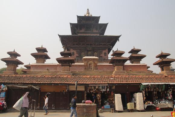 The Taleju Temple in Kathmandu