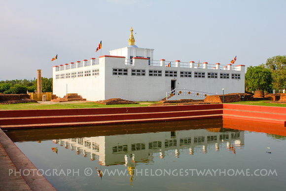 Maya Devi Temple in Lumbini