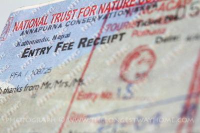 Annapurna Conservation Area Permit