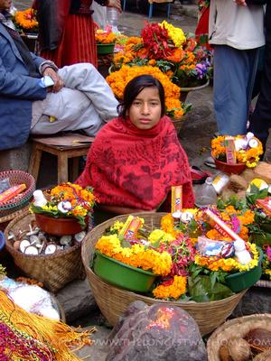 Hindu girl from Nepal