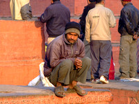 Nepalese man looking for work