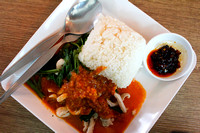 Pork in peanut sauce in Thailand 3