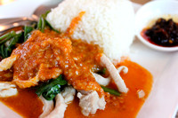 Pork in peanut sauce in Thailand 2