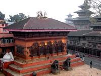 Overlooking Kathmandu Durbar Square
