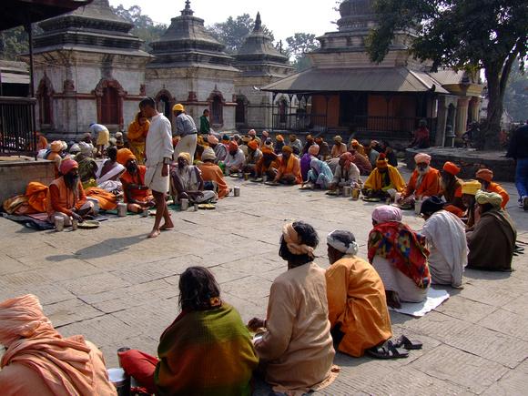 Nathas in Pashupatinath