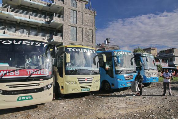 Pokhara bus park