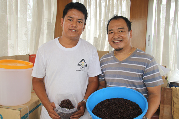Nepali coffee producers