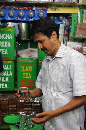 a local Nepali tea shop