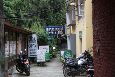 Brezel Cafe in Kathmandu