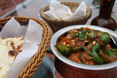 Dinner at Third Eye restaurant in Kathmandu
