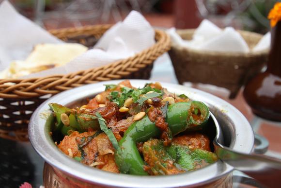 Chicken Jalfrezi from Third Eye Restaurant in Kathmandu