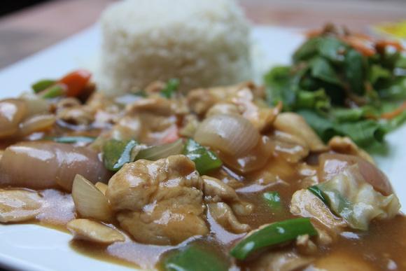 Mongolian Style Chicken at Rosemary Restaurant