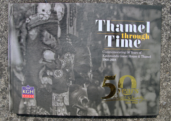 Thamel Through Time book cover