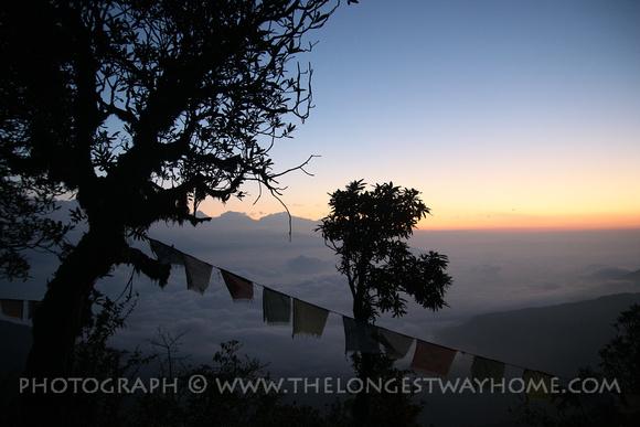 Sunrise on the Panchase Trek