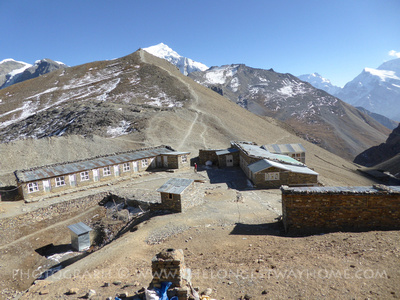 Low camp on the Annapurna Circuit