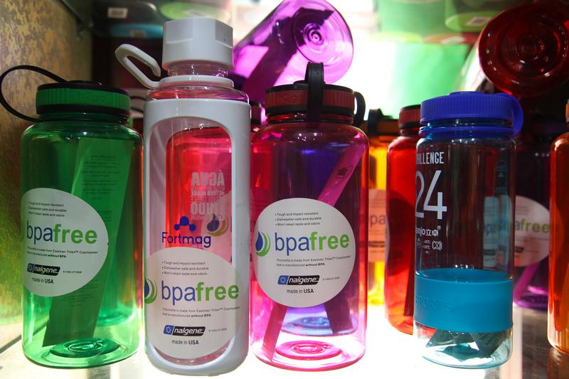 Water bottles for trekking in Nepal