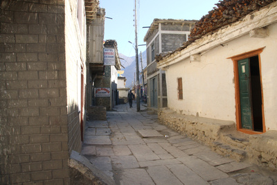 A street in old Jomson
