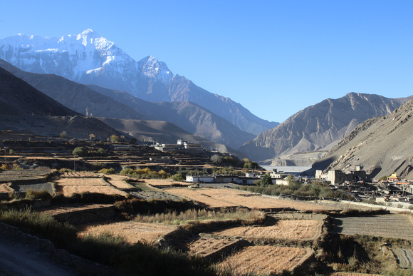 Trekking into Upper Mustang on day one