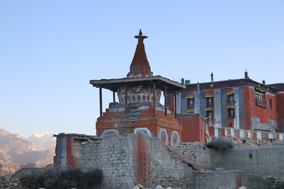 16th century Thubten Shedrup Dhagyeling monastery