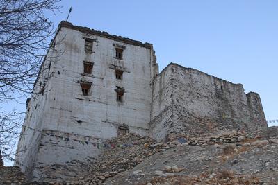 Samdrup Gedphel Palace in Upper Mustang