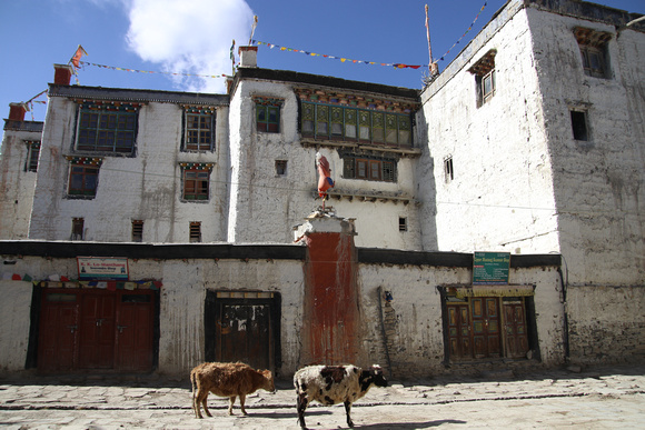 The royal palace in Lo Manthang