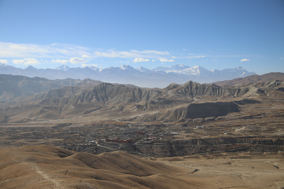 Lo Manthang the capital of the Kingdom of Lo