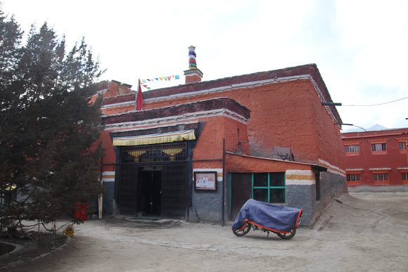 This is Chode Gompa in Lo Manthang