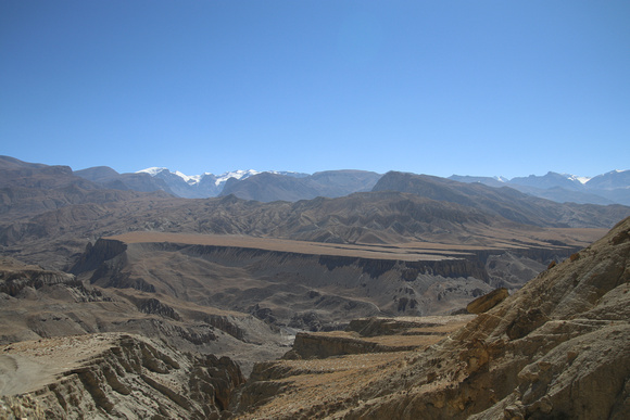 Plateaus in Upper Mustang