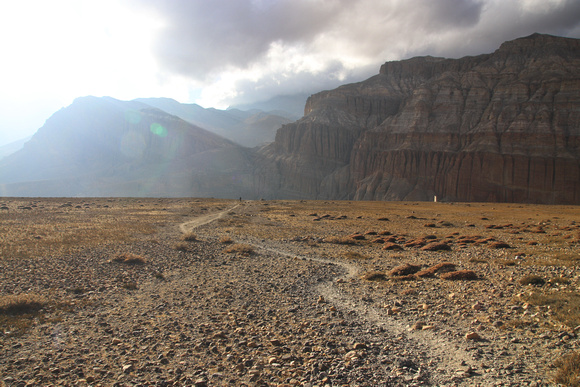 Vast Plateau in Upper Mustang