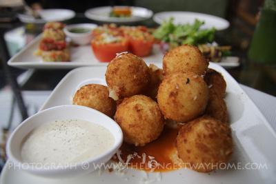 Cheese balls in Kathmandu