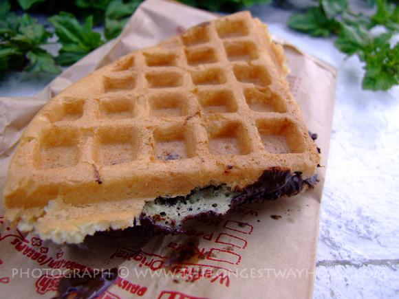 Chocolate Waffle from Malaysia