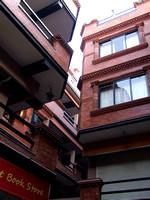 Refurbished Mandala street in Kathmandu Nepal
