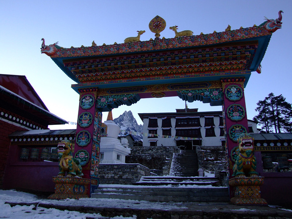 Tengbouche Monastery the highest in the world